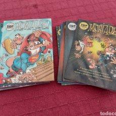 Cómics: MORTADELO TOP COMIC, LOTE DE 10 COMICS EDICIONES B,FRANCISCO IBÁÑEZ. Lote 284247443