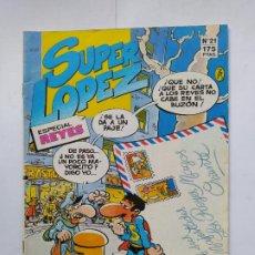 Fumetti: SUPER LOPEZ Nº 21. ESPECIAL REYES. EDICIONES B. TDKC38. Lote 284668763