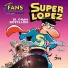 Comics: SUPER LOPEZ Nº 40 EL GRAN BOTELLON (JAN) EDICIONES B - IMPECABLE - SUB03M. Lote 286526468
