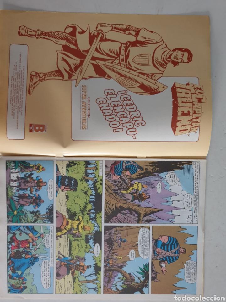 Cómics: CAPITAN TRUENO N°126 CEDRIC EL ENCAPUCHADO. EDICION HISTÓRICA EDICIONES B 1987 - Foto 2 - 286934883