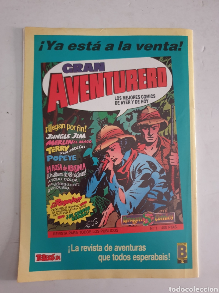 Cómics: CAPITAN TRUENO N°126 CEDRIC EL ENCAPUCHADO. EDICION HISTÓRICA EDICIONES B 1987 - Foto 3 - 286934883