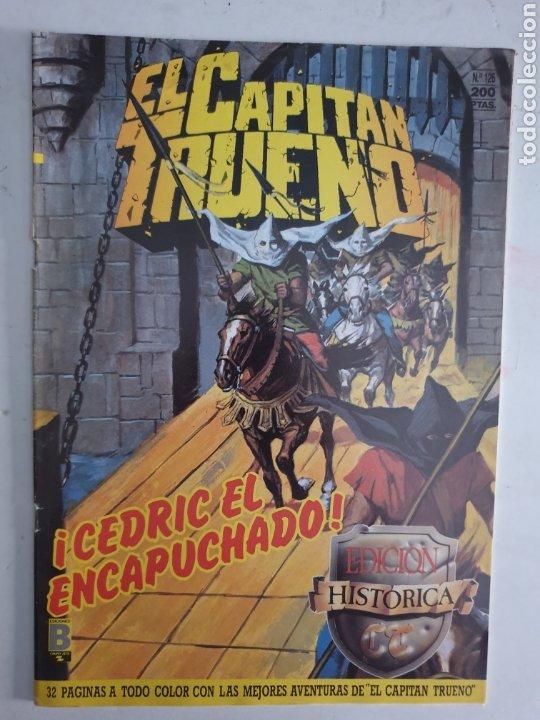 CAPITAN TRUENO N°126 CEDRIC EL ENCAPUCHADO. EDICION HISTÓRICA EDICIONES B 1987 (Tebeos y Comics - Ediciones B - Clásicos Españoles)