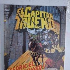 Cómics: CAPITAN TRUENO N°126 CEDRIC EL ENCAPUCHADO. EDICION HISTÓRICA EDICIONES B 1987. Lote 286934883