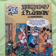 """Comics: LOTE DE 9 COMICS MORTADELO Y FILEMÓN COLECCIÓN """"OLÉ"""" FORMATO GRANDE DE EDICIONES B. Lote 287057113"""