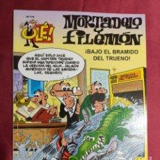 Comics : OLÉ. MORTADELO Y FILEMÓN. Nº 176. ¡BAJO EL BRAMIDO DEL TRUENO!. EDICIONES B. 1ª EDICIÓN. 2007. Lote 287152318