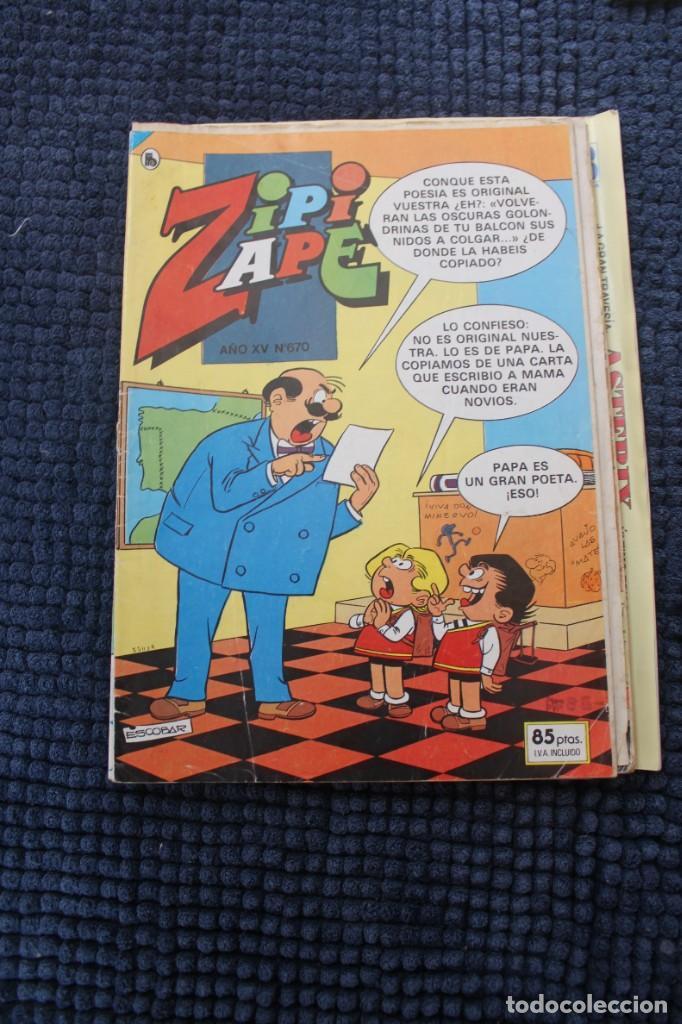 ZIPI ZAPE Nº 670 (Tebeos y Comics - Ediciones B - Otros)