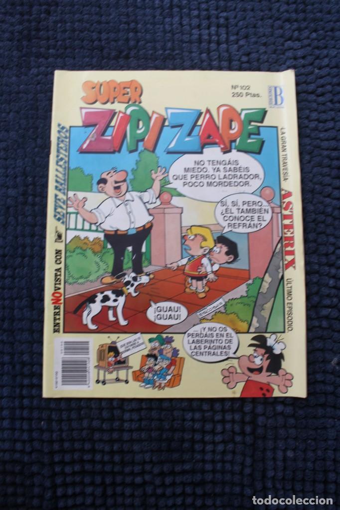 SUPER ZIPI ZAPE Nº 102 (Tebeos y Comics - Ediciones B - Otros)