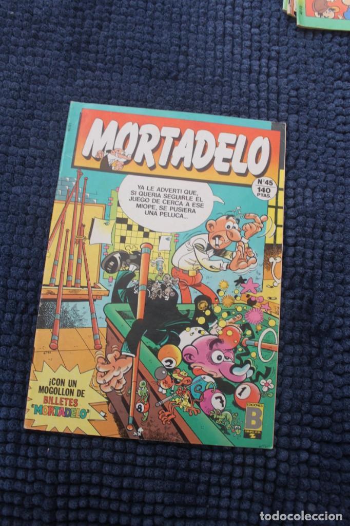 MORTADELO Nº 45 - NO CONTIENE LOS BILLETES (Tebeos y Comics - Ediciones B - Otros)
