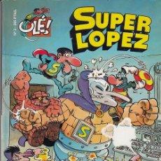 Comics: COLECCION OLE - EDICIONES B - SUPERLOPEZ Nº 3 - TODOS CONTRA UNO UNO CONTRA TODOS #. Lote 287452838