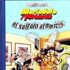 Cómics: COMIC EDICION COLECCIONISTA MORTADELO Y FILEMON EL SULFATO ATOMICO EDICIONES B. Lote 287744523