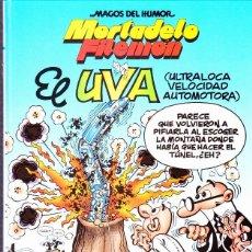 Cómics: COMIC MAGOS DEL HUMOR MORTADELO Y FILEMON EL UVA EDICIONES B. Lote 287744693
