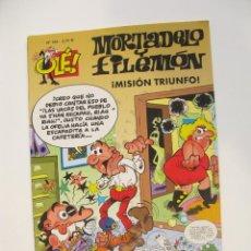 Comics: MORTADELO Y FILEMÓN - OLÉ Nº 164 - MISIÓN TRIUNFO - EDICIONES B - 1ª ED. 2003. Lote 287751918