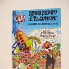 Cómics: MORTADELO Y FILEMÓN - OLÉ Nº 166 - EL PARQUE DE ATRACCIONES - EDICIONES B - 1ª ED. 2003 - BE. Lote 287753058