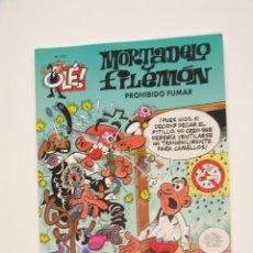 Cómics: MORTADELO Y FILEMÓN - OLÉ Nº 172 - PROHIBIDO FUMAR - EDICIONES B - 2ª ED. 2005 - BE. Lote 287754063