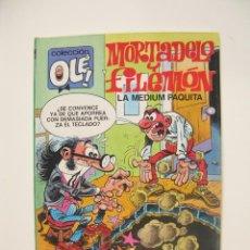 Cómics: MORTADELO Y FILEMÓN - COLECCIÓN OLÉ Nº 320-M. 73 - LA MEDIUM PAQUITA - EDICIONES B - 1ª ED. 1988 BE. Lote 287910853