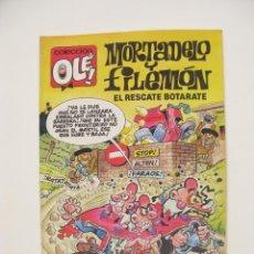 Cómics: MORTADELO Y FILEMÓN- COLECCIÓN OLÉ Nº 376-M. 188 -EL RESCATE BOTARATE -EDICIONES B - 1ª ED. 1990 -BE. Lote 287912348