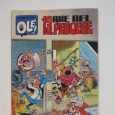 Cómics: 13, RUE DEL PERCEBE - COLECCIÓN OLÉ Nº 417-V. 26 - EDICIONES B - 1ª ED. 1992. Lote 287917918