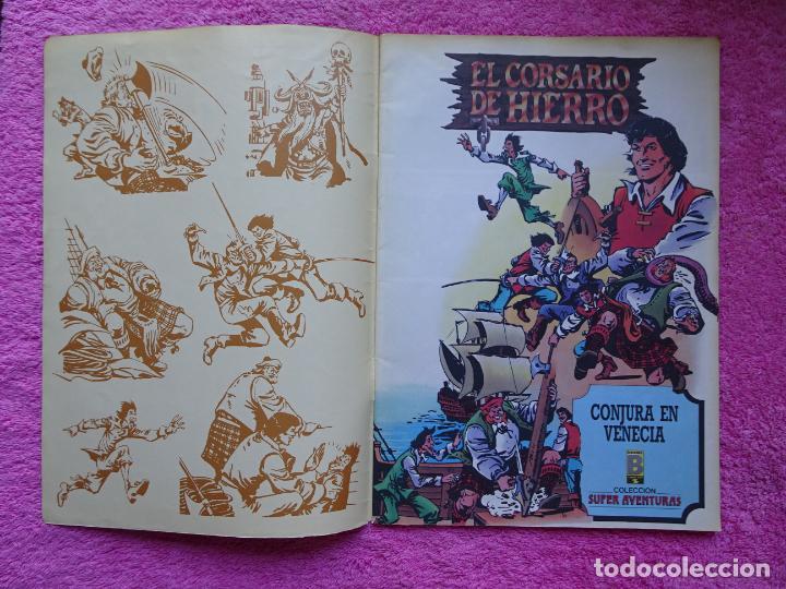 Cómics: el corsario de hierro 18 ediciones b 1988 edición histórica - Foto 2 - 288056893