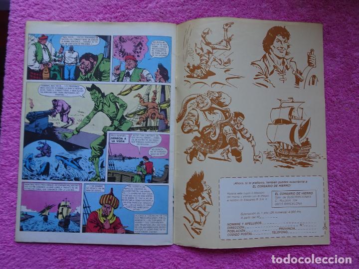 Cómics: el corsario de hierro 18 ediciones b 1988 edición histórica - Foto 6 - 288056893