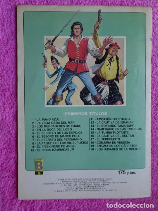 Cómics: el corsario de hierro 18 ediciones b 1988 edición histórica - Foto 7 - 288056893