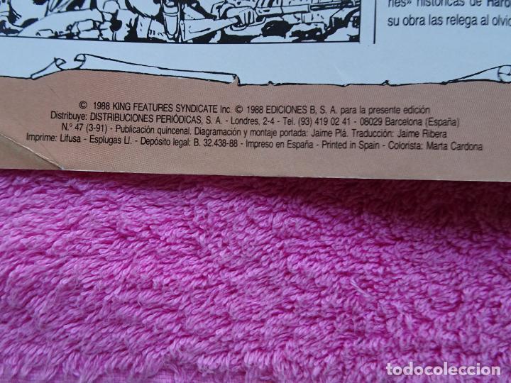Cómics: príncipe valiente 47 ediciones b 1988 edición histórica - Foto 3 - 288057618