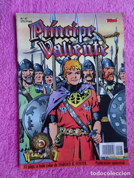 PRÍNCIPE VALIENTE 47 EDICIONES B 1988 EDICIÓN HISTÓRICA (Tebeos y Comics - Ediciones B - Otros)
