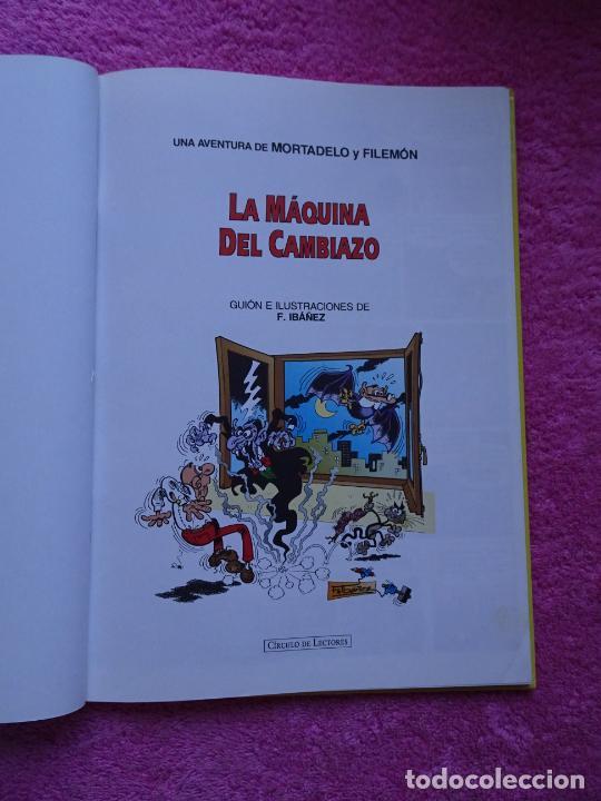 Cómics: magos del humor 1 la máquina del cambiazo mortadelo y filemón ediciones b 1994 circulo de lectores - Foto 3 - 288067433