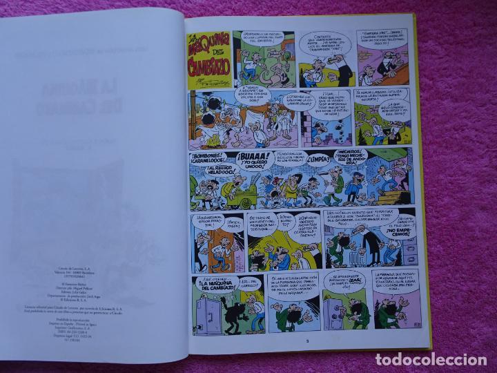 Cómics: magos del humor 1 la máquina del cambiazo mortadelo y filemón ediciones b 1994 circulo de lectores - Foto 5 - 288067433