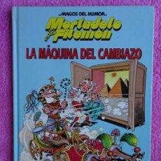 Cómics: MAGOS DEL HUMOR 1 LA MÁQUINA DEL CAMBIAZO MORTADELO Y FILEMÓN EDICIONES B 1994 CIRCULO DE LECTORES. Lote 288067433