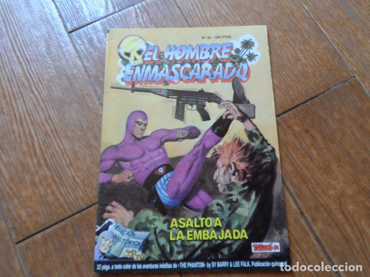 EL HOMBRE ENMASCARADO 20 EDICIÓN HISTÓRICA. TEBEOS SA (Tebeos y Comics - Ediciones B - Otros)