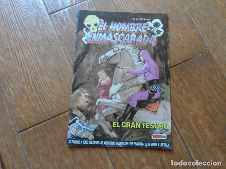 EL HOMBRE ENMASCARADO 2 EDICIÓN HISTÓRICA. TEBEOS SA (Tebeos y Comics - Ediciones B - Otros)