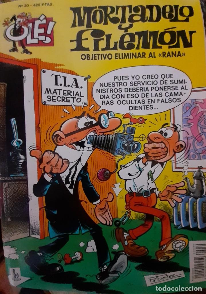 MORTADELO Y FILEMON - OLÉ 30 3ª EDICIÓN 2001 (Tebeos y Comics - Ediciones B - Humor)