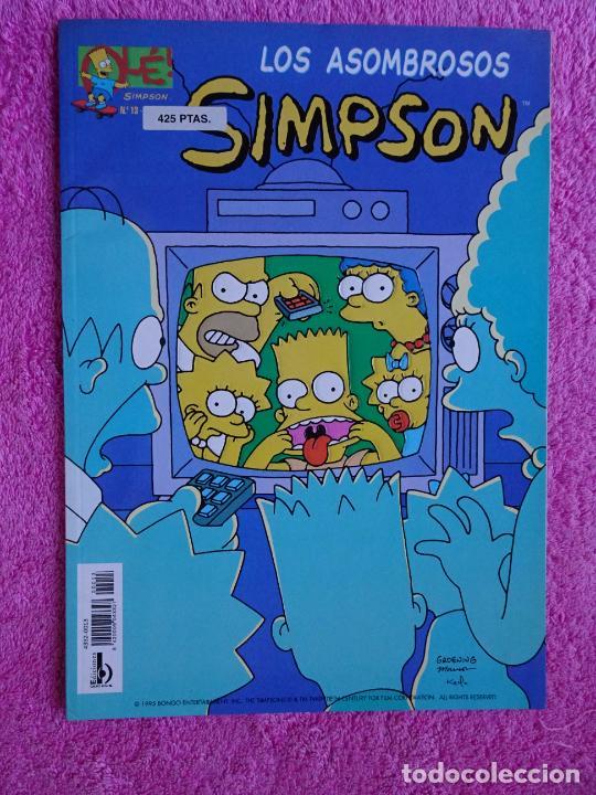 LOS ASOMBROSOS SIMPSON EDICIONES B 1997 EDICIÓN 1ª COLECCIÓN OLÉ 13 (Tebeos y Comics - Ediciones B - Humor)
