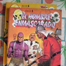 Cómics: EL HOMBRE ENMASCARADO (2 TOMOS), SELECCIÓN 5 Y 6 (EDICIÓN HISTÓRICA, EDICIONES B, TEBEOS SA). Lote 288179718