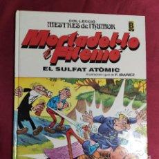 Cómics: MESTRES DE L'HUMOR MORTADEL.LO FILEMÓ. Nº 1. EL SULFAT ATOMIC. 1987. EN CATALÁ.. Lote 288190908