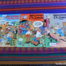 Cómics: OLÉ NºS 13 PEPE GOTERA , 83 Y 134 MORTADELO. EDICIONES B. BUEN ESTADO.. Lote 288197893