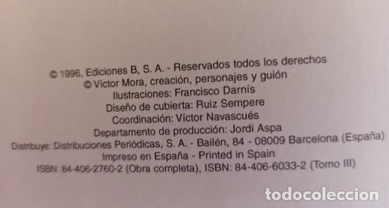 Cómics: EL JABATO Nº 3 TOMO FACSIMIL - EDICIONES B - EXCELENTE ESTADO. - Foto 7 - 288360098