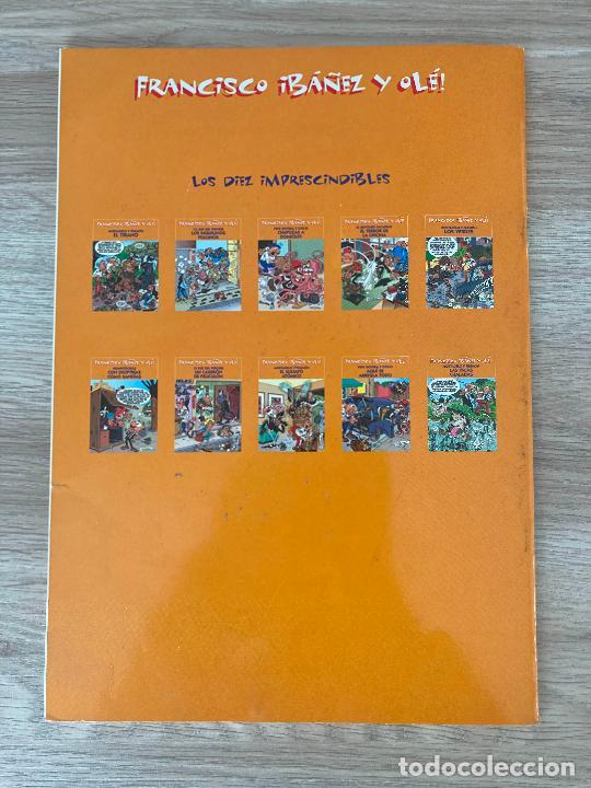 Cómics: FRANCISCO IBAÑEZ Y OLE MORTADELO Y FILEMON. LAS VACAS CHALADAS. EDICIONES B 2001 - Foto 2 - 288374133