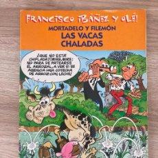 Cómics: FRANCISCO IBAÑEZ Y OLE MORTADELO Y FILEMON. LAS VACAS CHALADAS. EDICIONES B 2001. Lote 288374133