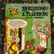 Cómics: COLECCION OLE - MORTADELO Y FILEMON NUM. 37 BILLY EL HORRENDO. BUEN ESTADO. Lote 288448288