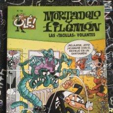 Cómics: COLECCION OLE - MORTADELO Y FILEMON NUM. 43 LAS TACILLAS VOLANTES . BUEN ESTADO. Lote 288449053