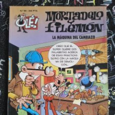 Cómics: COLECCION OLE - MORTADELO Y FILEMON NUM. 96 LA MAQUINA DEL CAMBIAZO . BUEN ESTADO. Lote 288449348