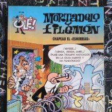 Cómics: COLECCION OLE - MORTADELO Y FILEMON NUM. 99 CHAPEAU EL ESMIRRIAU BUEN ESTADO. Lote 288449608