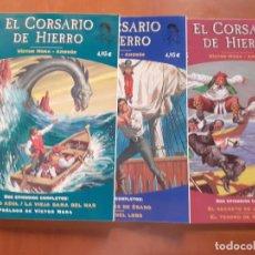 Cómics: CORSARIO DE HIERRO FANS. LOTE 1 AL 3. Lote 288451043