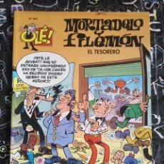 Cómics: COLECCION OLE - MORTADELO Y FILEMON NUM. 202 . EL TESORERO . BUEN ESTADO. MUY DIFICIL. Lote 288451848