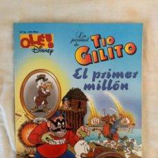 Cómics: OLÉ DISNEY Nº 36: LA JUVENTUD DEL TÍO GILITO - EL PRIMER MILLÓN. Lote 288498663