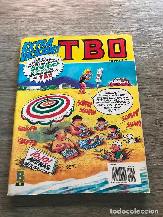 TBO Nº 41 EXTRA VACACIONES , EDICIONES B (Tebeos y Comics - Ediciones B - Humor)