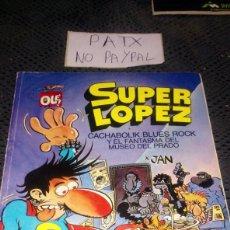 Cómics: SUPER LÓPEZ NÚMERO 11 POR JAN COLECCIÓN OLE. Lote 288562413