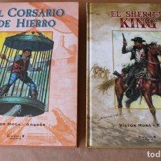 Cómics: EL CORSARIO DE HIERRO - EL SHERIFF KING - TOMO 1 - ED. B. (2004 - 2006) - MUY BUEN ESTADO. Lote 288608203