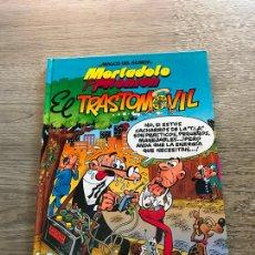 Cómics: MAGOS DEL HUMOR EL TRASTOMÓVIL , MORTADELO Y FILEMÓN , TAPA DURA , AÑO 1998. Lote 288640723